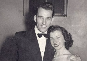 The late Dr. Barrie Strafford and his wife, the late Brenda Strafford.