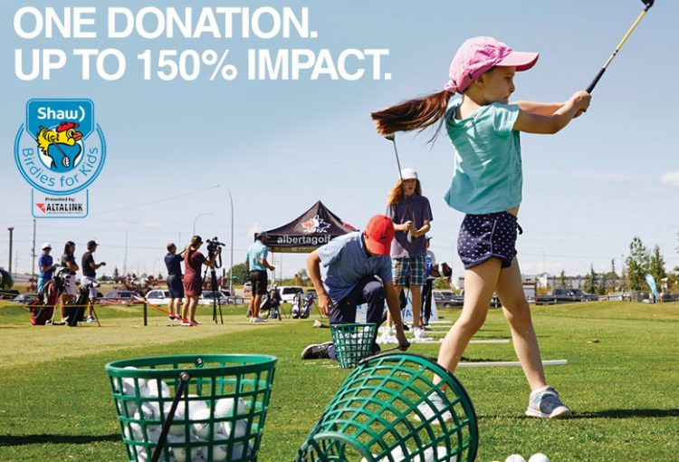 Match your donation with Birdies for Kids!